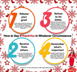 Air Asia Thank You infographic by MarriageandBeyond