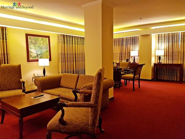 bayview park hotel executive suite
