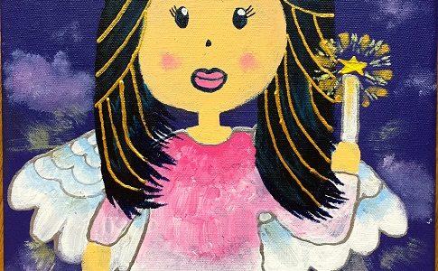 pretty angel by Samantha Kaspar