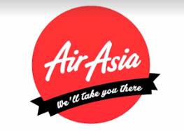 Air Asia well take you there logo