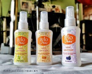 Belo Baby Sanitizer variants