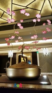 Plum Blossoms by Jevie Pagaguitan at Crimson Hotel
