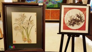 Chinese Paintings at the Crimson Hotel Filinvest City