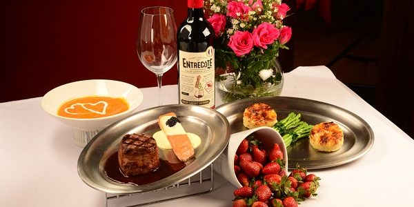 To Love is to Share at L'entrecote