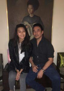 Derek Dee with daughter Michelle