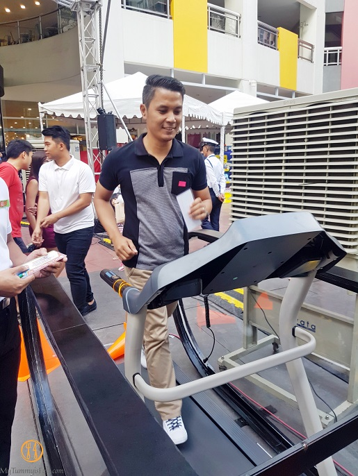#explorewellness2017 treadmill challenge
