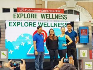 #explorewellness2017 jim and toni saret