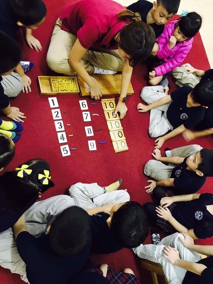 montessori de san juan classroom