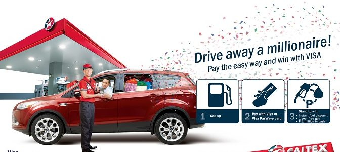 "Chevron Launches Visa payWave and ""Drive Away a Millionaire"" Promo"