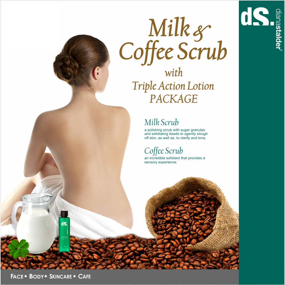 diana stalder milk and coffee scrub