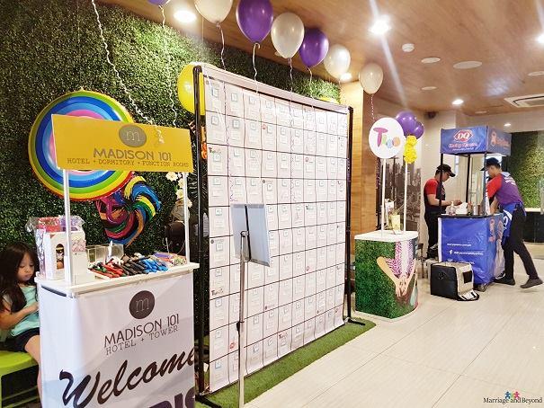 madison 101 hotel sponsors booths