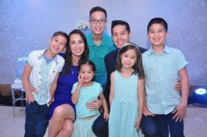 Cetaphil Endorsers Mendoza Family