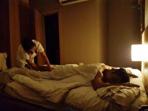 Madison 101 Hotel room in massage