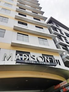Madison 101 Hotel frontage