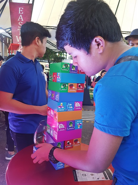 Robinsons Supermarket Wellness Festival Games