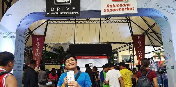 Jed at the Robinsosn Supermarket Wellness Festival