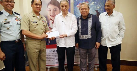 PAL donation to AFP at PNP