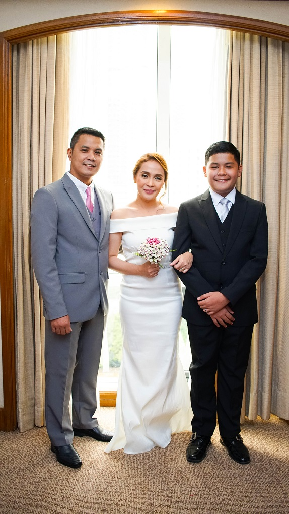 aspacio family richmonde hotel renewal of vows