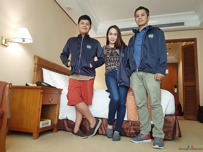 Our Birthday Staycation at Richmonde Hotel Ortigas family picture