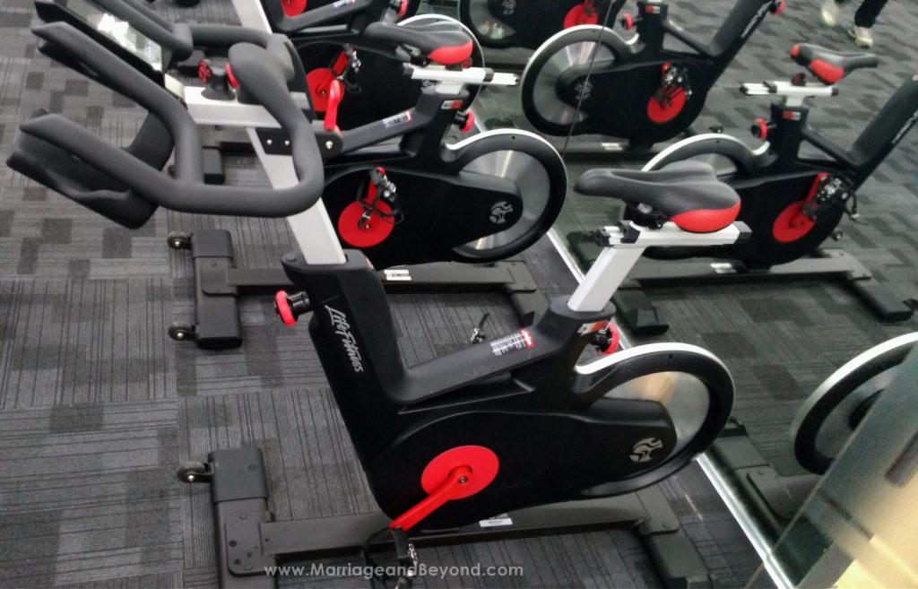 Anytime Fitness Glorietta 5 Ergometers