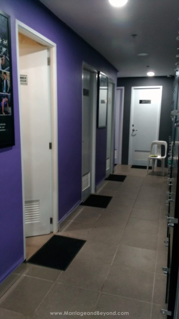 Anytime Fitness Glorietta 5 shower area