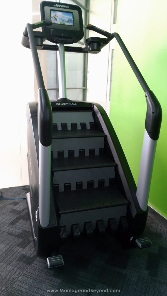 Anytime Fitness Glorietta 5 stair climber