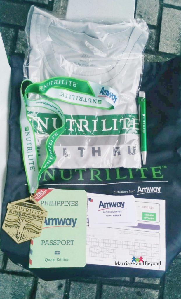 NutriliteHealthRun2017 Amway Business Owner Kit
