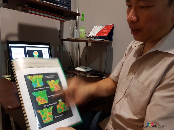 MDITI Health Quest Thermography reading