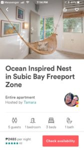 the nest by the sea on airbnb