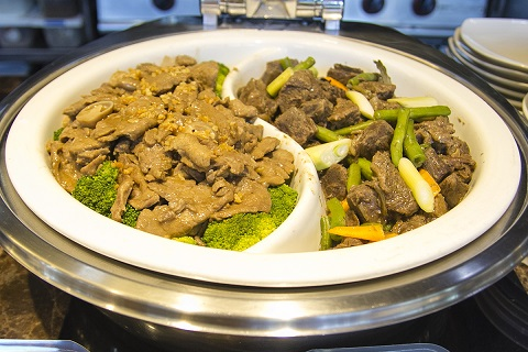 F1 Hotel Beef and Broccoli