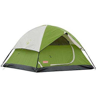 Romantic Camping Coleman tent