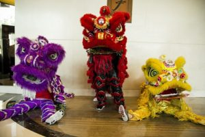 F1 Hotel Lion Dancers