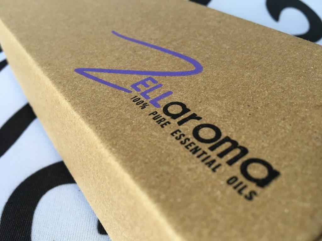 Zellaroma Essential Oils box