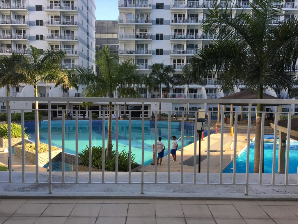 Shell Residences terrace SMDC Run 2018