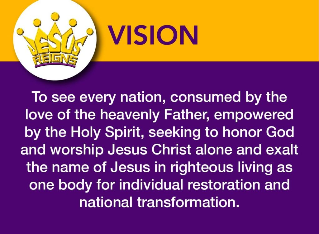 Jesus Reigns Vision