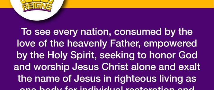 82 Provinces Unite at the Jesus Reigns Philippines Celebration on November 30, 2018