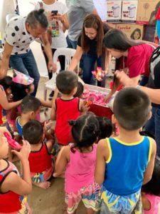 Eureka Celebrates 20th anniversary with Virliani Foundation kids