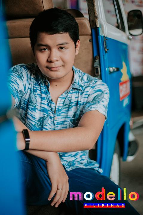 Jed - teen model - Modello Filipinas 2