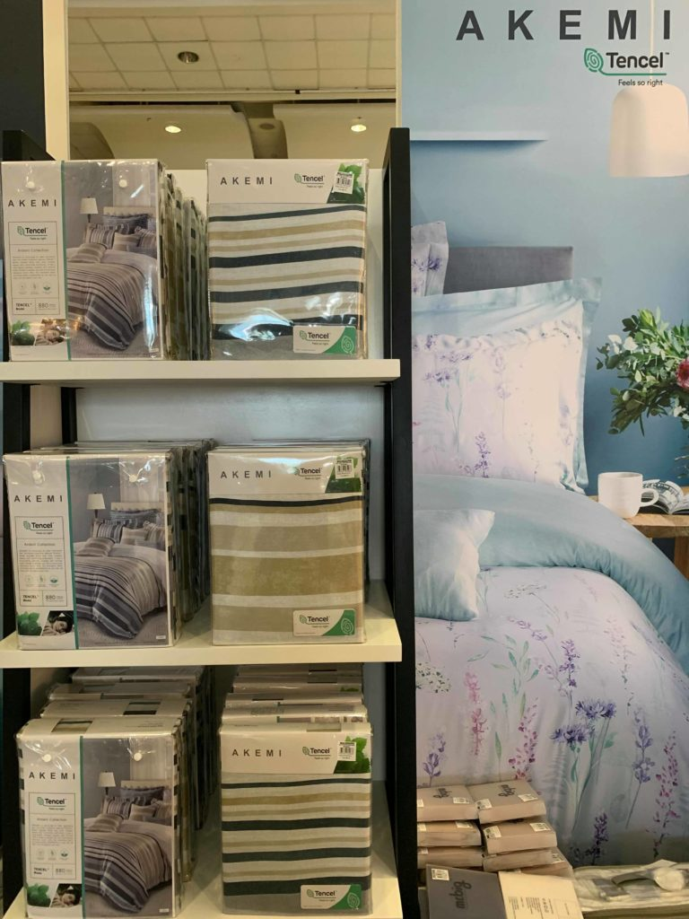 akemi beddings at the sm home fair