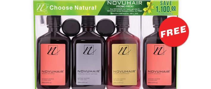 NOVUHAIR 3IN1 PLUS EXTRA SHAMPOO