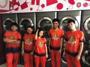 HopeWash: LG's Washabilities Laundry Shop