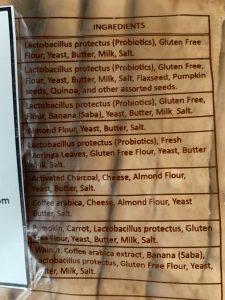 Hearty Bread ingredients