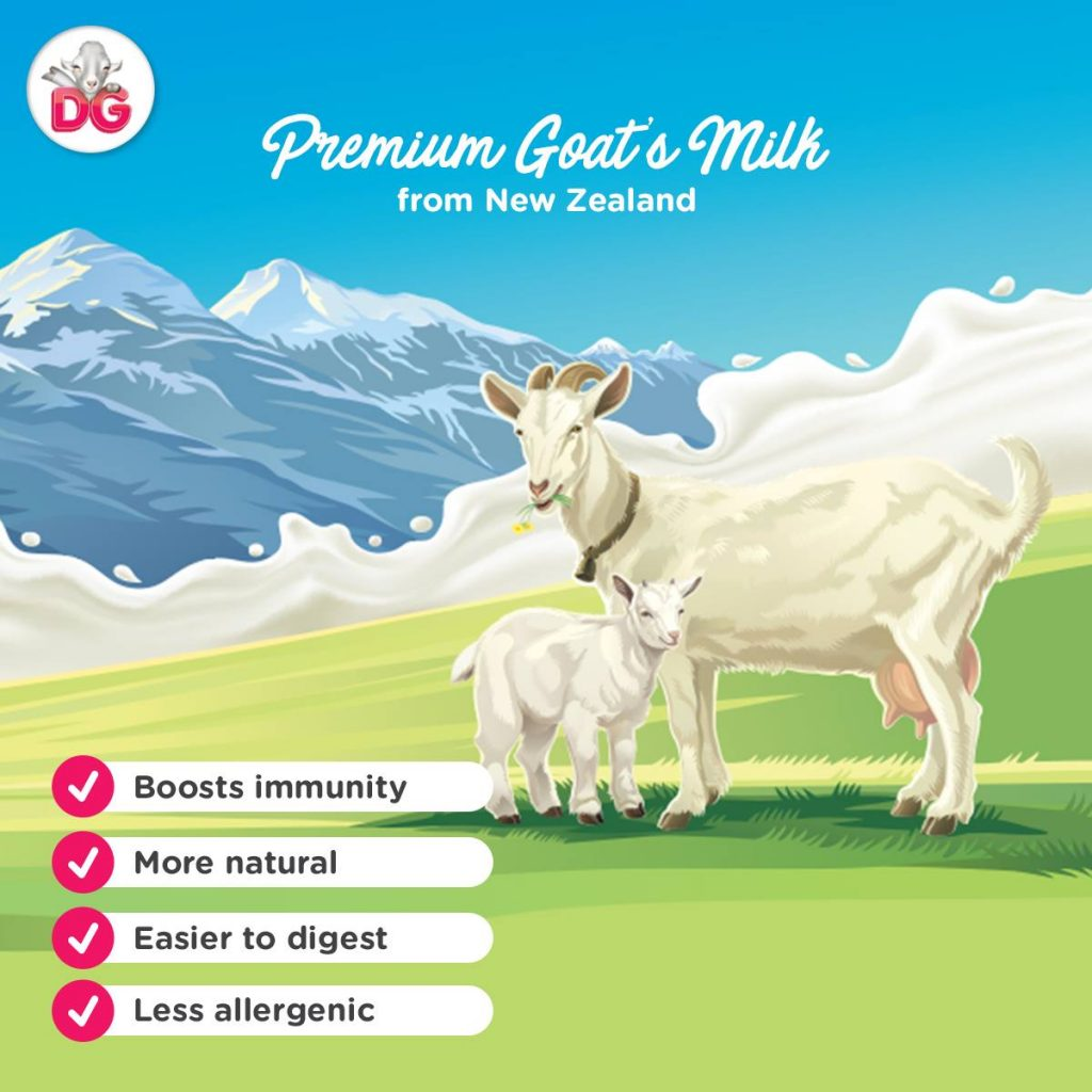New Zealand's Dairy Goat Milk Powder is now in the Philippines