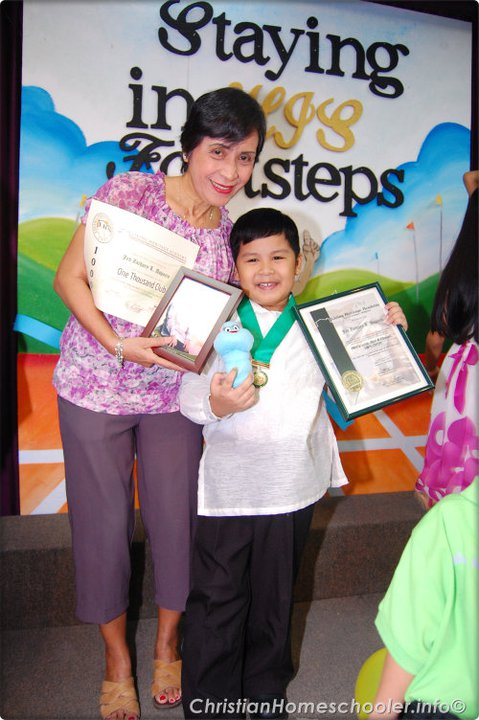 jed preschool graduation with lola