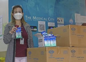 Clorox Donates 1,000 Disinfecting Wipes to medical frontliners